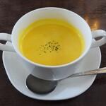 149125708 - 平日ランチ:スープ(かぼちゃスープ)