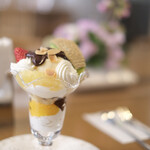 マッターホーン - 料理写真:チョコレートパフェ
