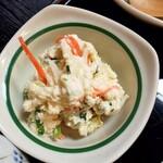 蕎澤 - おからサラダかな