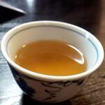 蕎澤 - そば茶も美味しい