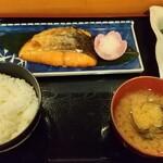 遊晞 - 料理写真:焼鮭定食880円