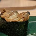寿司 魚がし日本一 - 煮浅蜊軍艦