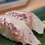 寿司 魚がし日本一 - 真鯛