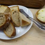 鹿とパンとワイン Bistro STAGMAN - パン