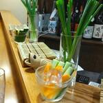 串徳 - 箸休めの新鮮野菜