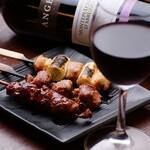 ねじべえ - ワインとお肉は相性抜群◎