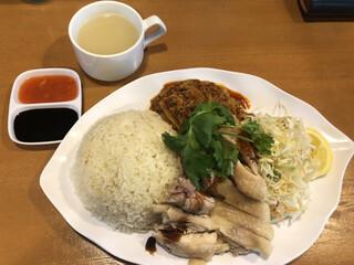 天鶏 - 天鶏ランチ@850円