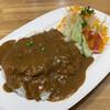 レストラン泉屋 - 料理写真:ステーキカレー(1200円)