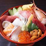 築地すし - 海鮮丼