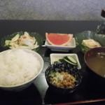 居酒屋タオ - 縞ホッケ焼き定食