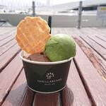 バニラビーンズ ベイサイド - 抹茶ホワイト&ロイヤルカカオ ¥594
