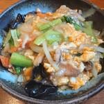 ワードオブマウス - キクラゲ玉子定食