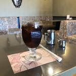 ROASTERY CAFE GARASHA RORO - セットのアイスコーヒー(+200円)