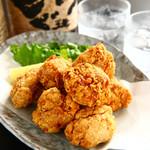 焼鳥ダイニング Yoshidori - 「自家製からあげ」 自家製ダレとやわらかモモ肉の愛称抜群♪