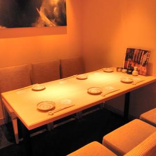 同窓会や飲み会に最適な大小様々な個室空間をご利用頂けます。