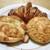 日の出ベーカリー - 料理写真:クロワッサン・焼きカレーパン・ハム&チーズ