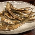 魚菜 - 本乾ししゃもあぶり