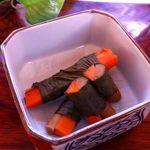 遠野味噌醤油有限会社 - 料理写真:田舎の味「みの虫南蛮」