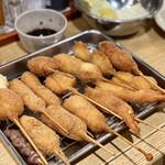 元祖串かつ だるま - 料理写真: