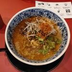 149178409 - マグロ節スープの担担麺(920円)