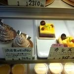 14918379 - 渋皮栗のモンブラン¥368  カシス¥368