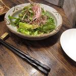 麻布 川上庵 - じゃこと高原野菜のしゃきしゃきサラダ