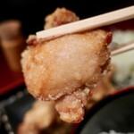 肴や 呉平 - ザンギ定食(700円)