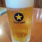 なまはげや - ドリンク写真:ほろ酔いセット500円(税抜き:以下同)から生ビール通常500円