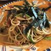 イタリアン・ガレージ - 料理写真:タコとほうれん草の和風パスタ
