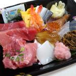 野口鮮魚店 - 海鮮ちらし