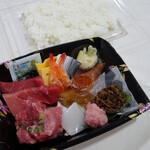 野口鮮魚店 - 海鮮ちらし980円