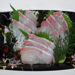 野口鮮魚店 - かんぱち650円