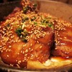 けむり - ベーコンエッグ丼