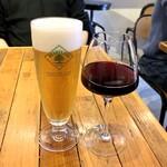 REGALO - 生ビールと赤ワイン