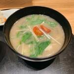 おだし東京 - トマトと鶏肉の塩麹おだし 590円(税込)