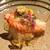 車力門 おの澤 - 料理写真:先付  北海道オホーツクの毛蟹 土佐酢のジュレがけ 菜の花添え