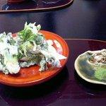 桂川 - 山菜の天婦羅