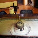 桂川 - ここでもお茶を頂けます