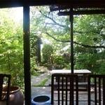14920470 - 窓外から観た庭