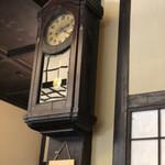 神田まつや - 100年動いている?時計