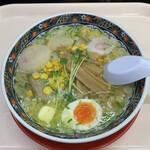あじさい - 特選味彩拉麺の塩('21/04/08)