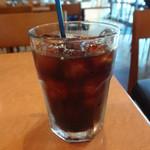 ウララカフェトウキョウ - アイスコーヒー:280円