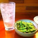 14921895 - チューハイ300円、枝豆?円