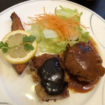 キッチン千代田 - 料理3品盛り合わせプレート