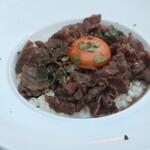 Didot - 黒毛和牛のすき焼きっぽいリゾット