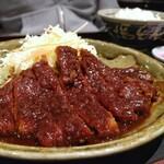 名古屋名物 名古屋めし食堂 丸八 - ロース味噌カツ定食