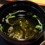 ほづみ亭 - 澄まし汁