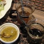 チキンキング神戸 - タレは3種類 バルサミコ酢&はちみつ&ゆず胡椒