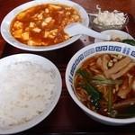 栄鵬 - 料理写真:日替わりAランチ(麻婆豆腐セット)