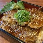 梅田肉料理 きゅうろく - 黒毛和牛サーロインステーキ重